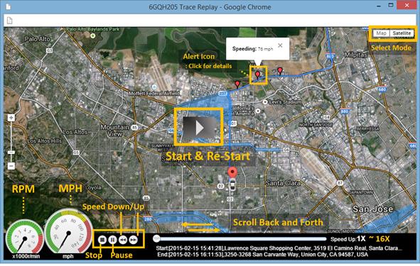 5. Trip Replay general info